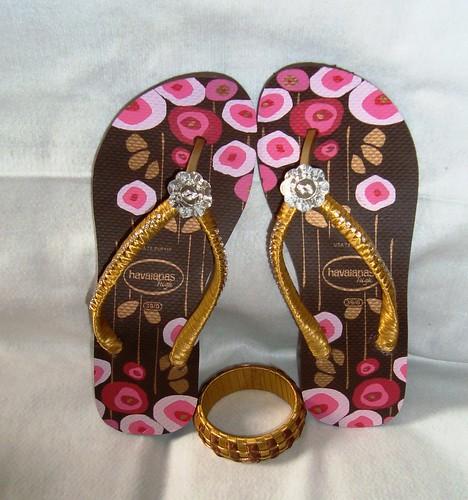 havaianas sandal sandalias chinelos customizadas sandaal fuxicos pedrarias havaianascustomizadas chineloscustomizados sandaliascustomizadas