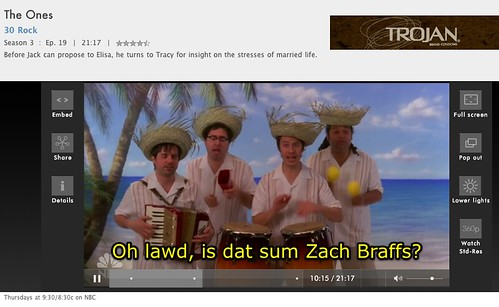 Zach Braff On 30 Rock