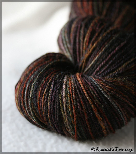 stained glass merino-alpaca sock yarn 3