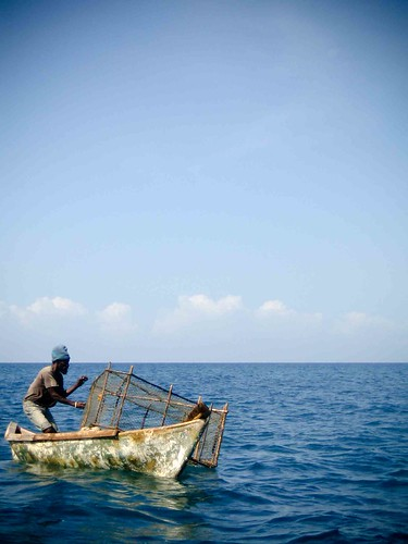 Jamaican fisherman