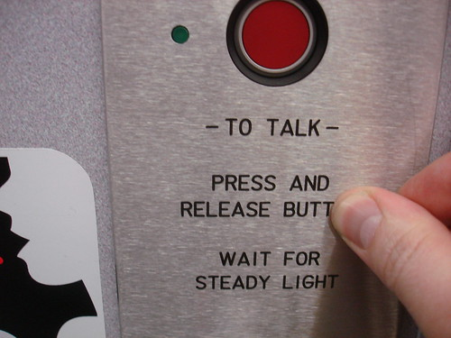 To Talk Press and Release Butt