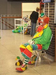 *5-1-09* (Day 121) - Sad Clown (its me...jeff!) Tags: alone sad circus clown isolation shriner