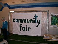 Oak Bay Community Association Fair sign