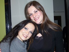 floor jansen and tarja turunen  4 (xJannik) Tags: metal female floor live after forever concerts jansen tarja turunen afterforever sinh vocalists floorjansen fronted tarjaturunen