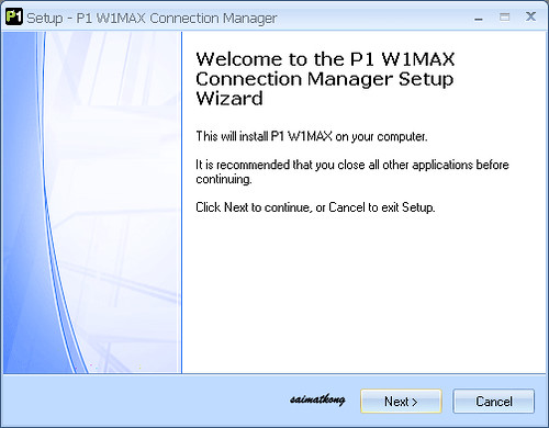 P1 W1MAX Wiggy Setup