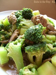 Stir-fried Beef with Brocolli
