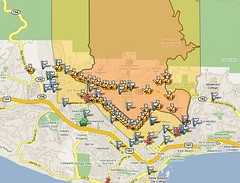 Jesusita Fire - Santa Barbara - Google Maps