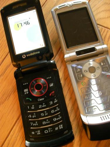 OTBブログ]Vodafone 804SSとBlue...