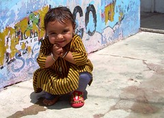 Glee (jmanj) Tags: city urban india girl children cities baroda vadodara urbanindia