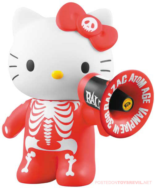 CLICK THRU for a closer-look at the 140mm / 5.5 inch tall BLAZAC-HELLO KITTY