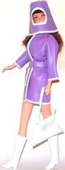 SLICK CHICK (Virgin-Archer) Tags: vintage toys mod dolls barbie clone maddiemod teenagefashiondoll