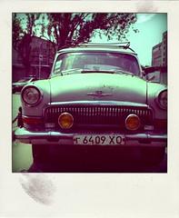 Volga Gaz 21 (panov_a) Tags: portrait color face car retro oldcar volga kherson gaz21 poladroid