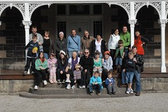 Cox Clan @ Dunkeld (stucox) Tags: family cox dunkeld