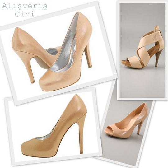 Pudra Rengi Ayakkabı Modelleri