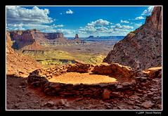 False Kiva (James Neeley) Tags: landscape utah canyonlandsnationalpark canyonlands moab hdr 5xp jamesneeley falsekiva