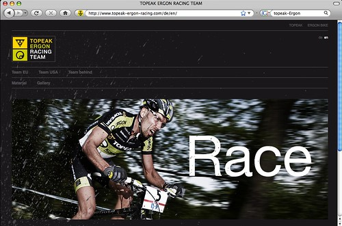 2009 Topeak-Ergon team site