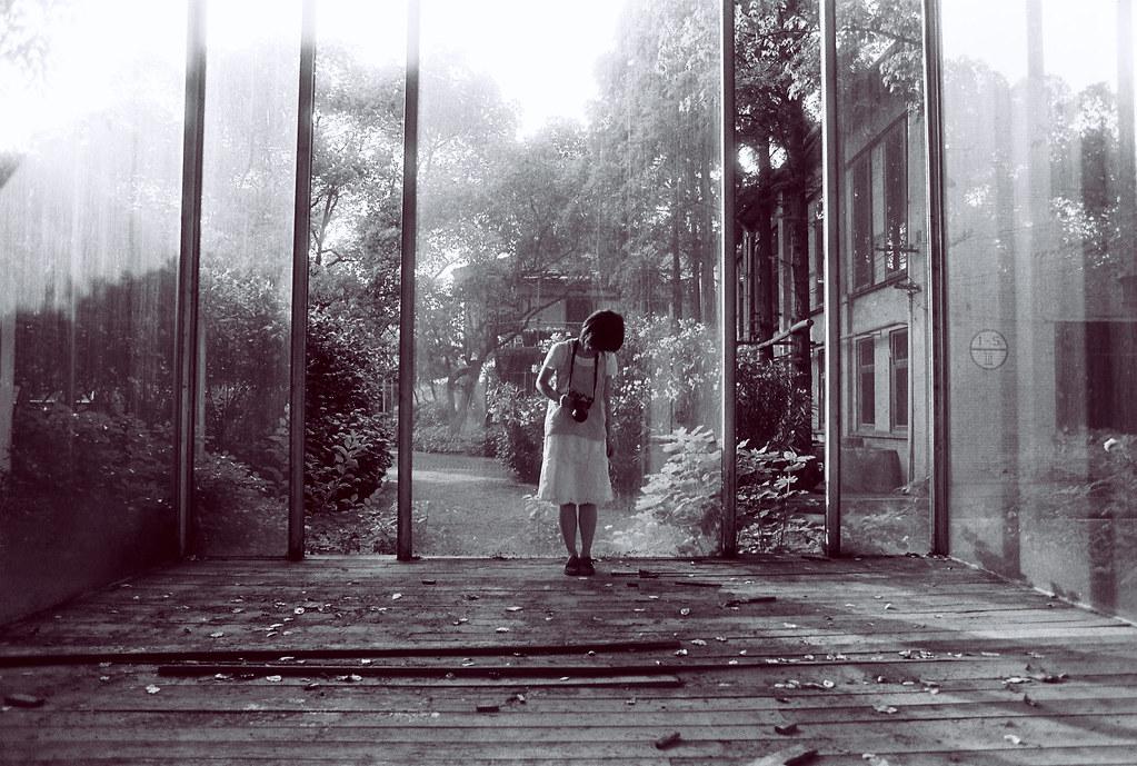 秘密花园?大爱这个玻璃屋