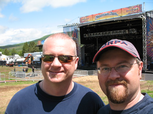 Me and Mic at MTN Jam