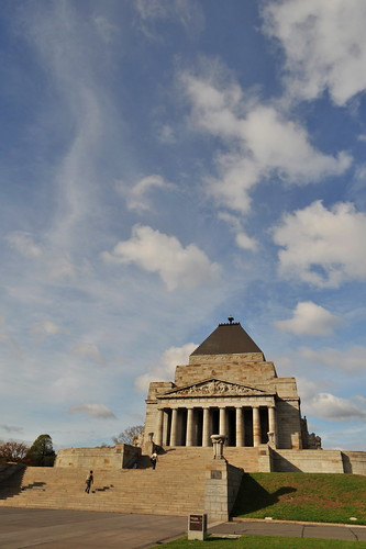 Melbourne 2009 - Shrine of Remembrance (1)