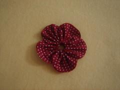 PAP - Fuxico flor pétala aberta 9 (Minhas Crias) Tags: flores artesanato fuxico pap tecido retalho trabalhosmanuais passoapasso floraberta
