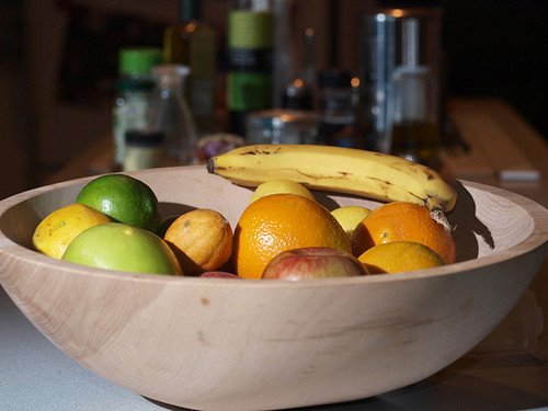 evening bowl of fruit-experiment #2