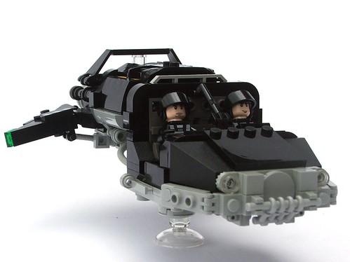 Neo-Blacktron Landspeeder