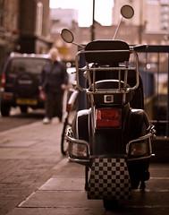 tottenham street,London (silvertony45) Tags: street england london fitzrovia streetlife scooter londonist silvertony45
