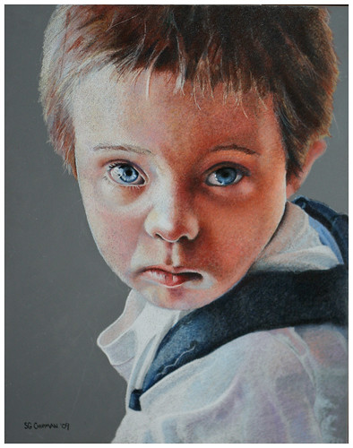 Colored pencil drawing entitled Matthew