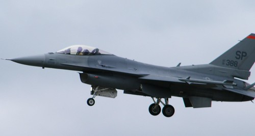 PARIS AIR SHOW 2009 / F-16C FIGHTING FALCON / SALON DU BOURGET 2009