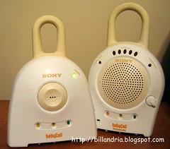 Sony 900 MHz BabyCall Nursery Monitor
