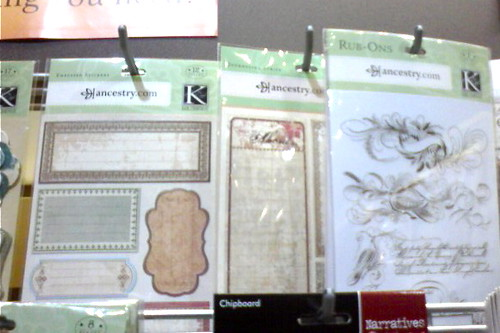 Genealogy Scrapbooking at Archivers