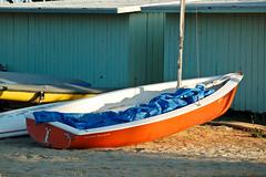 beach santabarbara boat sail sb0609