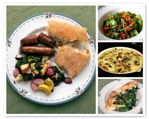 World Peas CSA - Week One Mosaic