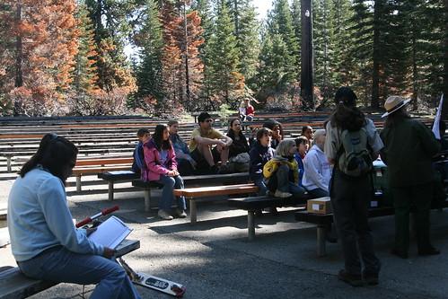 Lassen Volcanic Park Ranger's Activity הדרכת ריינג'רים בפארק לאסן
