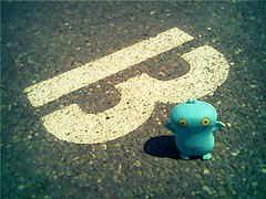 B is for Babo (willycoolpics.) Tags: doll ugly letter uglydoll picnik babo
