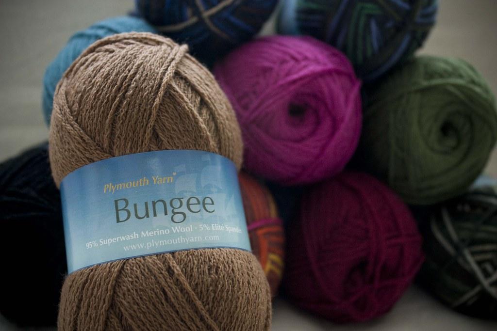 Bungee yarn label