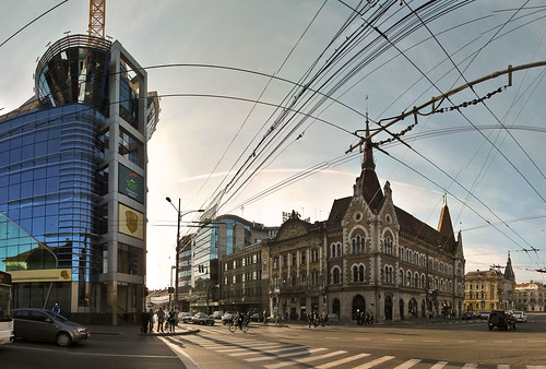 Cluj - City of wires
