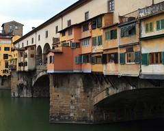 The Ponte Vecchio (Ludewig Photography) Tags: italy florence firenze arno pontevecchio