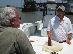 NWF President Talks to Fishing Boat Captain