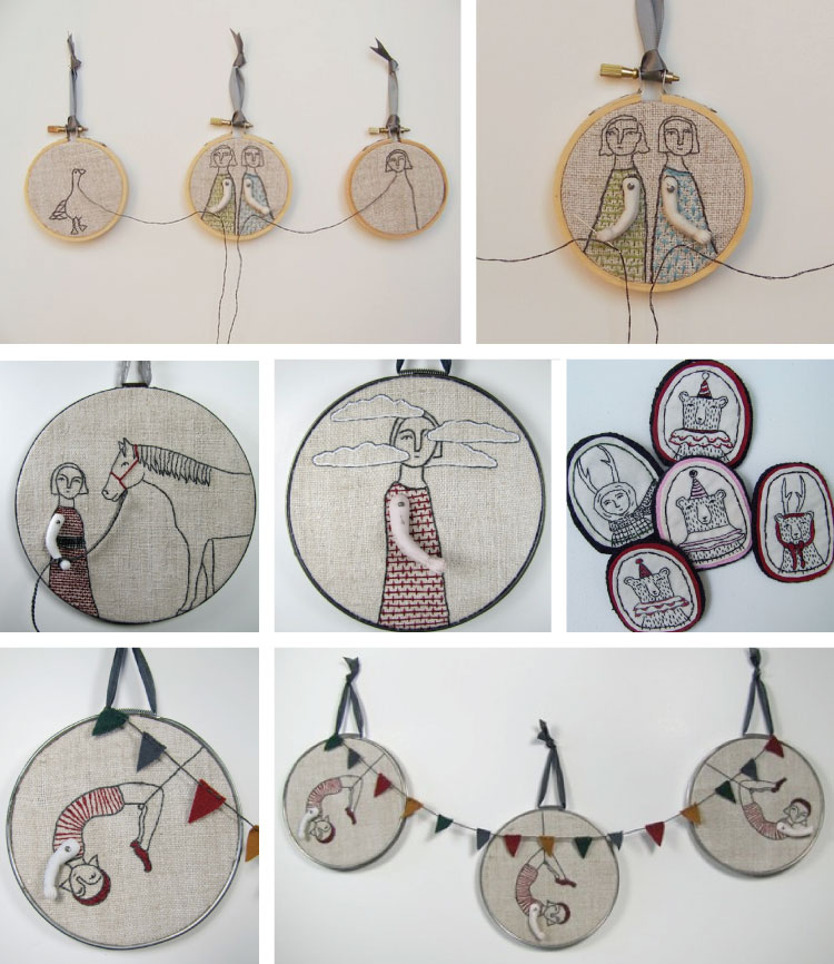 Embroidery by marysgrandaughter