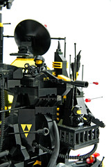 BlackTron Base (Chiefrocker9000) Tags: lego space slug base bt bti glug moc blacktron swisslug blacktronbase