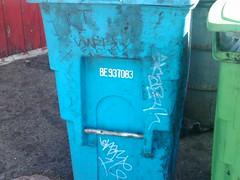 vote swerv aera skaz snare (mud creek) Tags: graffiti san francisco mr vote snare 1810 aera bst skaz wkt swerv