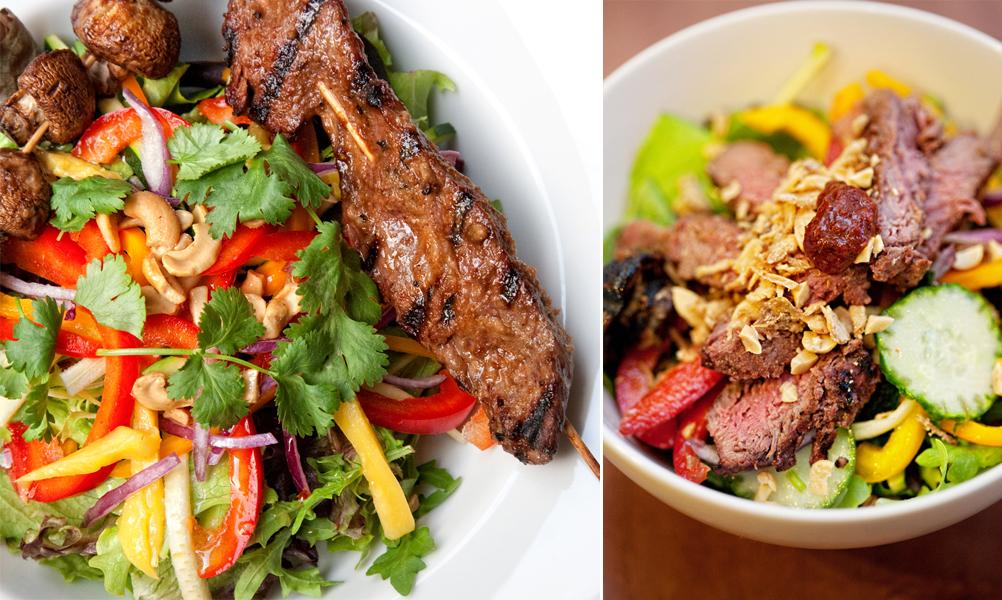 Kalbi Beef Salad | The Ivory Hut
