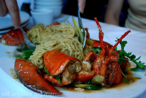 Mandarin Kitchen, Bayswater - Lobster noodle £30