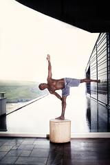 Wayne (Helen Morcom Photography) Tags: yoga scarlet hotel nikon power wayne leal d700