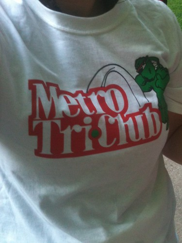 tri club shirt