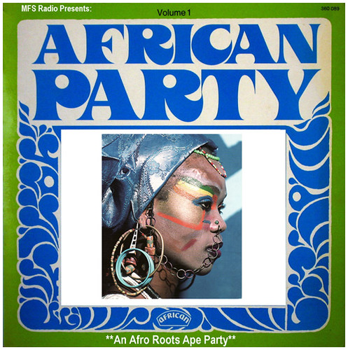 African Party vol.1, front-500