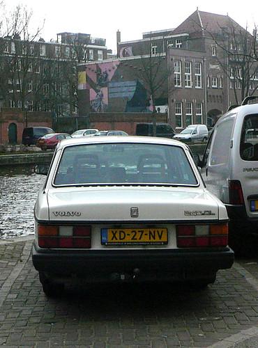 89 Volvo 240 Dl. Volvo 240 DL, 1989, Amsterdam,