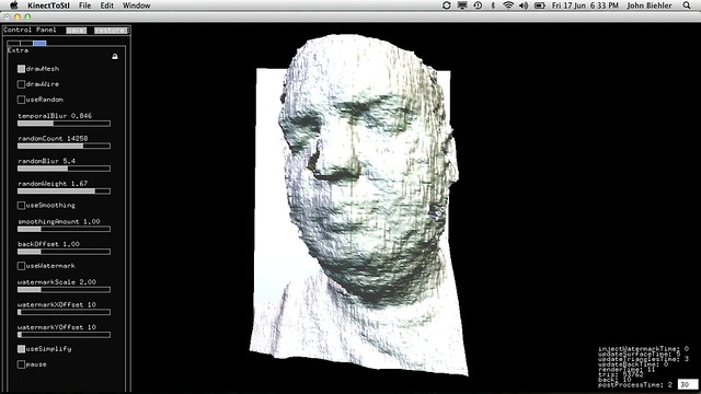 Using the Kinect as a 3D Scanner