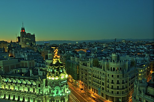 Gran Vía (Madrid) by felipe_gabaldon, on Flickr
